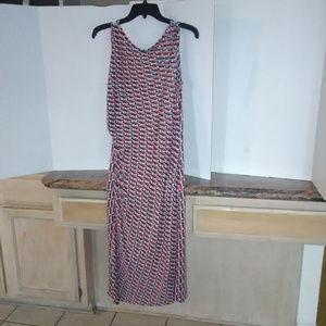 Diane Von Furstenberg Silk Jersey Maxi Dress